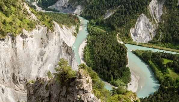 Rundwanderung durch die Rheinschlucht