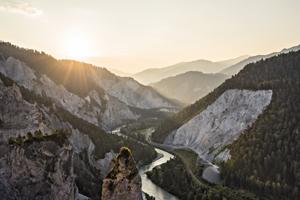 Die Entstehung der Rheinschlucht