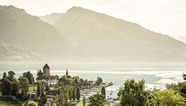 Rundwanderung Berner Oberland Spiez am Thunersee