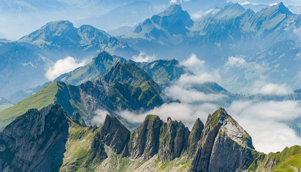 Wandern am Säntis: Schwägalp, Ebenalp und eine Tour zum Gipfel