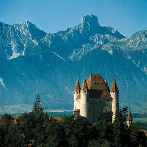 Ausflüge im Berner Oberland: Schloss Thun