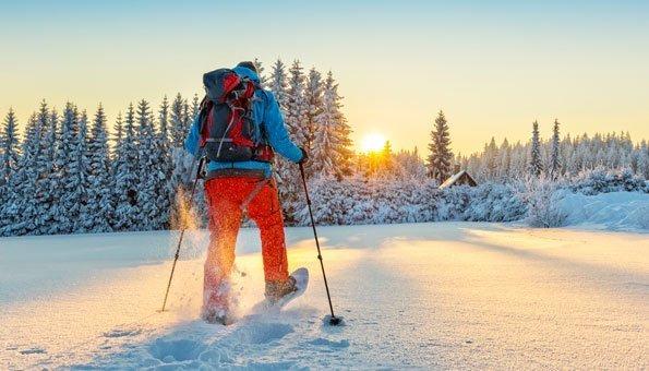 Schneeschuhlaufen: Die schönsten Wander-Routen in der Schweiz