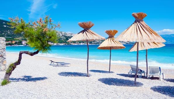 die Insel Krk in Kroatien bietet einige der schönsten Strände Europas