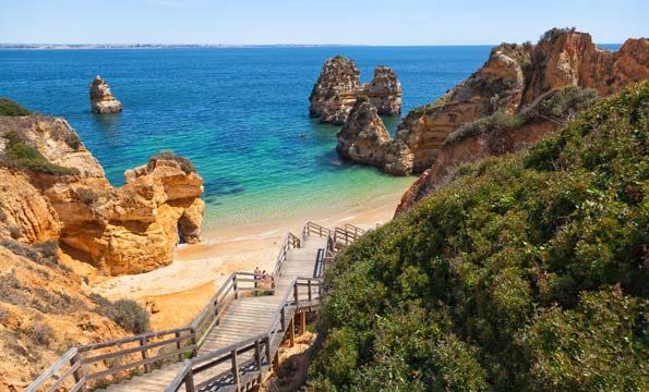 Schönste Strände Europa: Praia do Camilo, Algarve, Portugal