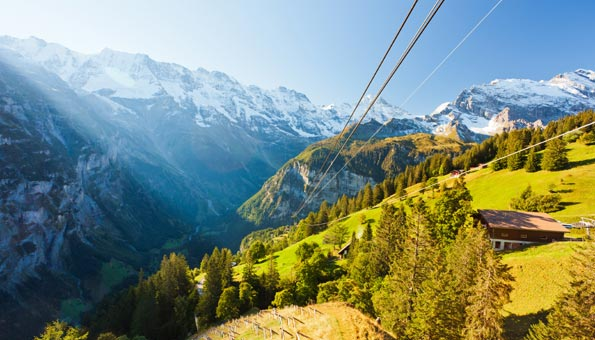 Ausflugsziele Berner Oberland: 200 Berggipfel entdecken auf dem Schilthorn