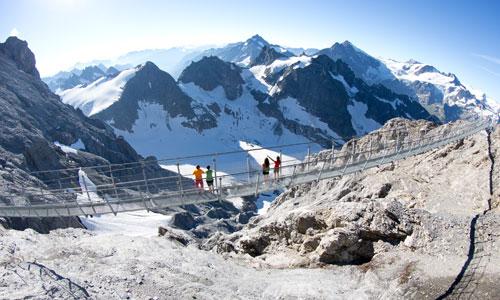 Titlis-Cliff-Walk: Die höchste Hängebrücke der Schweiz