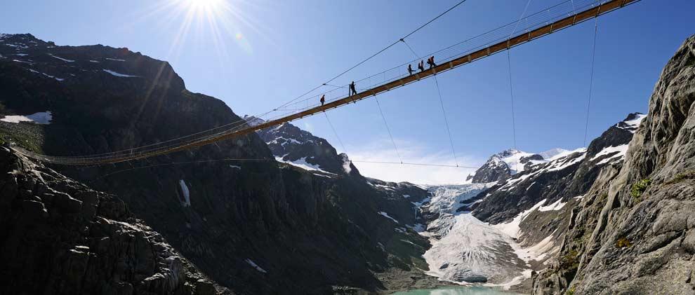 Ausflugsziel Hängebrücken: Die 8 spektakulärsten der Schweiz