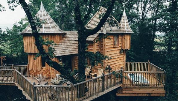 Übernachten im Baumhaus: Hotels von abenteuerlich bis romantisch