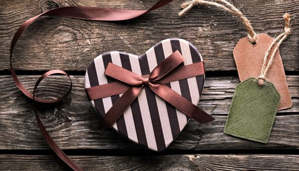 Nachhaltig schenken am Valentinstag