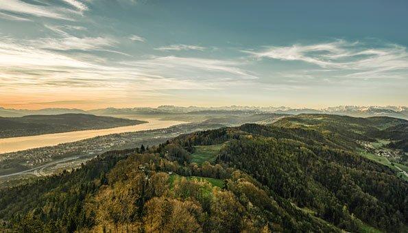 Velowege Zürich: Die Routen mit den schönsten Aussichten