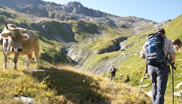 Reiseziele Schweiz: Trecking auf dem Vier-Quellen-Weg