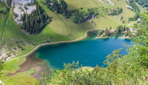 Wandern Appenzell: Seealpsee