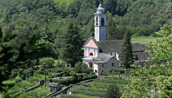 Kirche auf der Rundtour Valle del Salto.