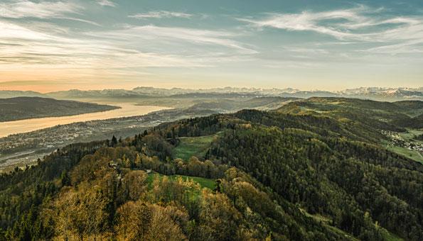 Wandern in der Region Zürich: Auf dem Uetliberg den Planetenweg entdecken.