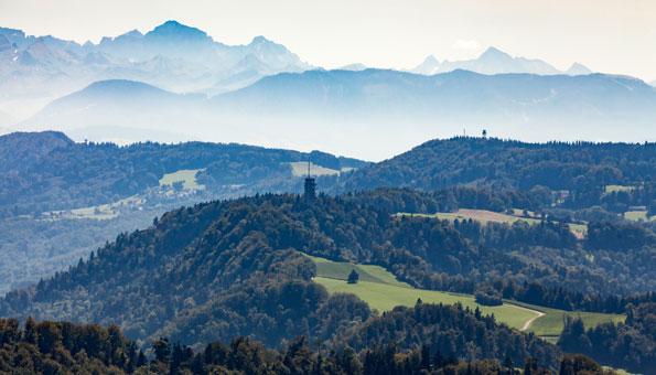 Wandern bei Zürich: Wanderwege in der Umgebung und im Zürcher Oberland und Unterland