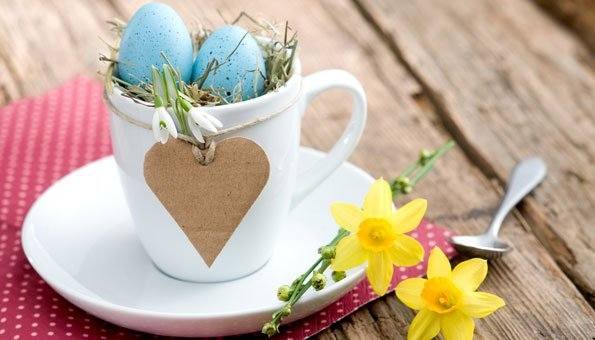 Last Minute-Osternest basteln: 6 schöne Ideen für Eilige