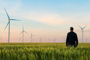 Erneuerbare Energie Mensch