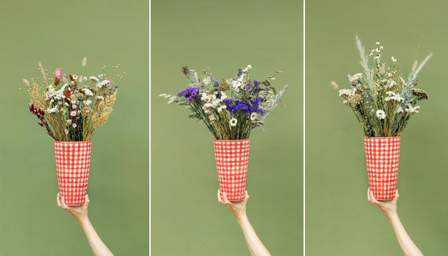 Wettbewerb: Wir verlosen 3 Trockenblumensträusse von Blumenpost