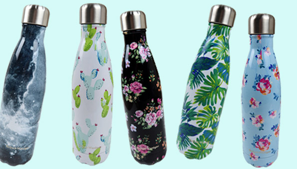Wettbewerb: Wir verlosen 5 Iso-Trinkflaschen aus Edelstahl