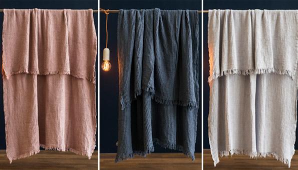 Wettbewerb: Wir verlosen 3 kuschelige Bio-Baumwolldecken für je 90.–