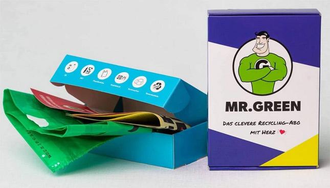 Wettbewerb: Wir verlosen 3 praktische Recycling-Abos von Mr. Green
