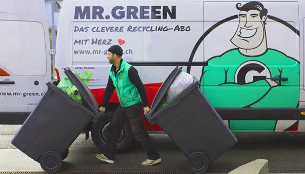 Wettbewerb: Wir verlosen 3 Recycling-Abos von Mr. Green