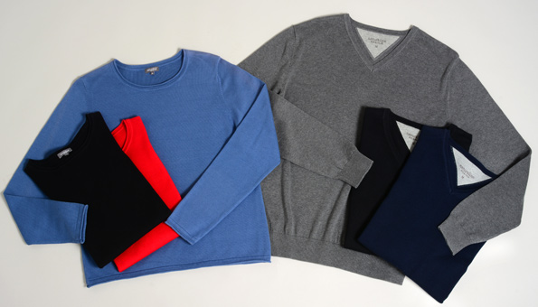 Wir verlosen 5 Pullover aus Bio-Baumwolle von Naturaline