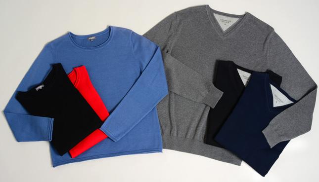 Wettbewerb: Wir verlosen 5 Pullover aus Bio-Baumwolle von Naturaline