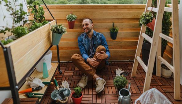 Urban Gardening auf dem Balkon