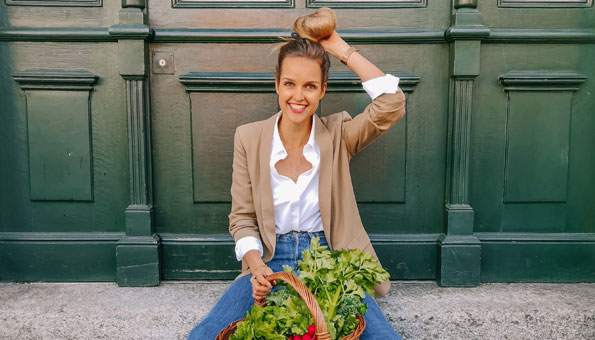 Anina Gepp gehört zu den beliebtesten Nachhaltigkeits-Influencerinnen der Schweiz