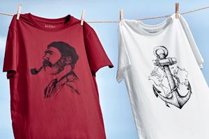 Bio-Baumwoll T-Shirt