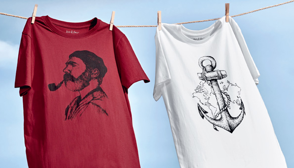 Wettbewerb: Wir verlosen 10 trendige T-Shirts von Naturaline