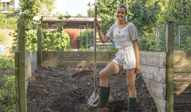 «Dieses T-Shirt können Sie im eigenen Garten kompostieren»