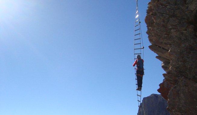 Klettersteige: Den Berg hautnah erleben und die Aussicht geniessen