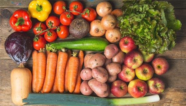Wettbewerb: 3 Körbe mit Bio-Gemüse und -Früchten gewinnen