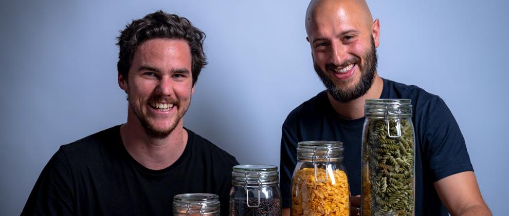 Zürcher Startup Wayste liefert jetzt Lebensmittel zero waste nach Hause