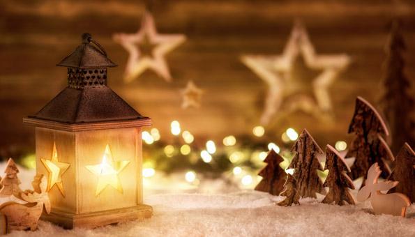 Weihnachten feiern mit schöner Weihnachtsdeko
