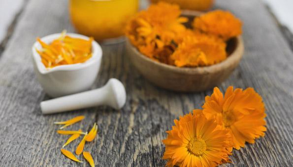 Akne bekämpfen mit Ringelblumen-Gel
