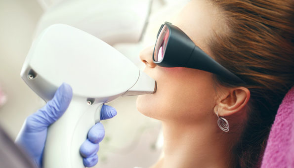 Damenbart entfernen mit Laserbehandlung