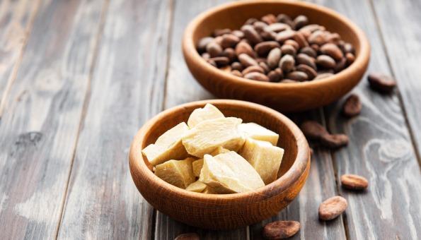Kakaobutter für gesunde Haut: Anwendung, Wirkung & Kakaobutter kaufen