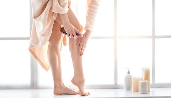 Körperöle auf feuchter Haut anwenden