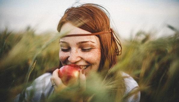 Tipps für schöne Haut: Durch Essen eine gesunde Haut bekommen