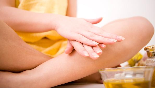 Mandelöl können Sie für den ganzen Körper verwenden