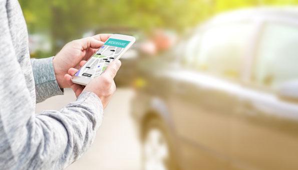 Carsharing ist heute einfacher denn je. Auch Privat lässt sich das Auto teilen.