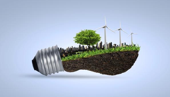 Erneuerbare Energie Wind, Sonne, Wasser