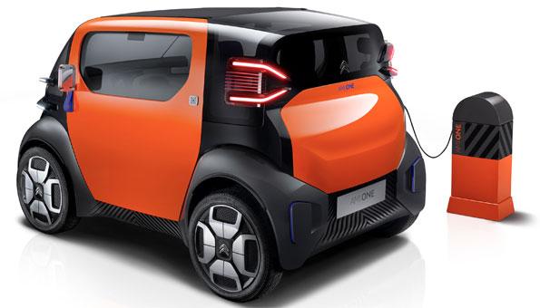 Der Ami One ist ein typisches Elektroauto für die Stadt. Gesehen am Autosalon Genf