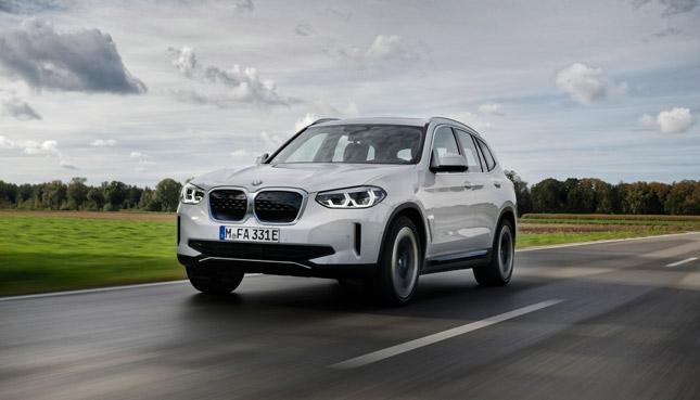 BMW iX3 Elektroautos 2021
