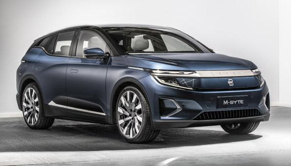 Der Byton macht als Elektro-SUV den Teslas Konkurrenz. Das E-Auto kommt 2020 auf den Markt.