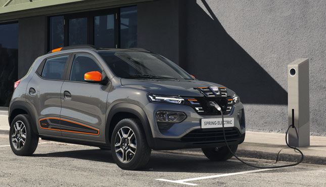 Dacia Spring Electric - Elektroautos 2021