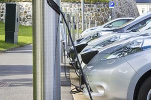 Elektrofahrzeuge auftanken